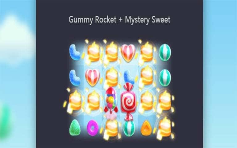 Feature Gummy Rocke+Mystery Sweet