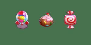 สัญลักษณ์พิเศษ candy burst
