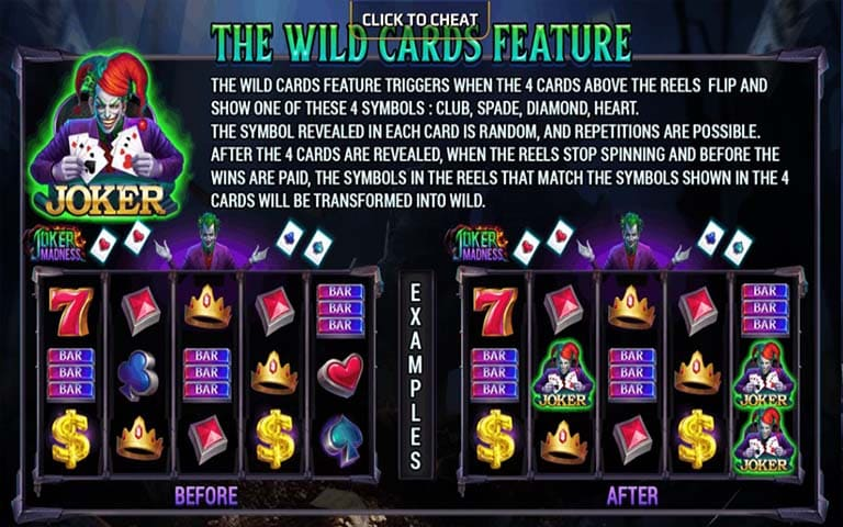The Wild cards Feature